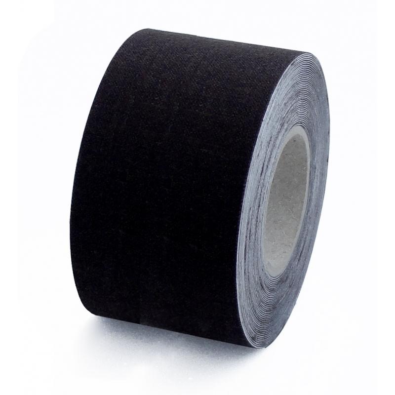 cinta de tela adhesiva negra