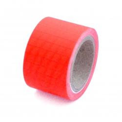 Rollo de Ripstop Adhesivo. Rojo
