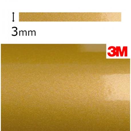 Cinta Vinilo Dorado Metalizado 3M.  (3mm.)