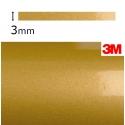 Vinilo Adhesivo Dorado Metalizado 3M-S80 (3mm.)