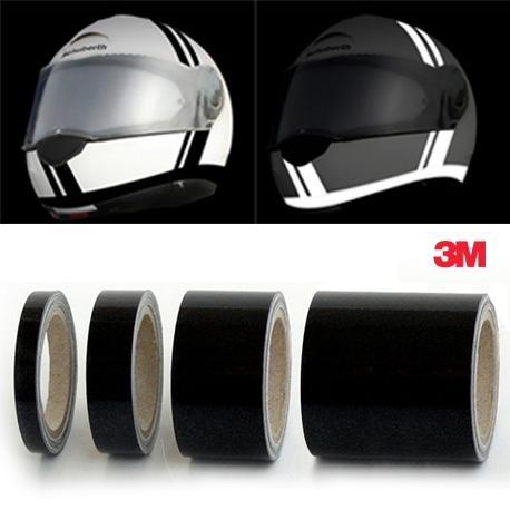 Vinilo Reflectante Negro 3M  (5mm.)