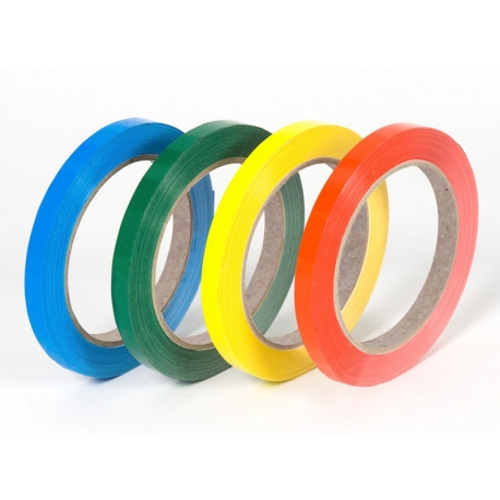 Rollo cinta adhesiva PVC 5mm. Rollo cinta adhesiva PVC fina. Rollo cinta adhesiva PVC colores
