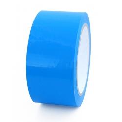 Precinto colores precinto azul cinta adhesiva PVC 50mm. Colores