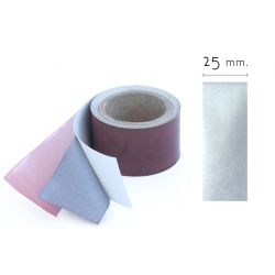 25mm. Cinta Reflectante Textil Gris Plata 3M - 25mm ancho