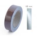 10mm ancho - Cinta Reflectante Textil Gris Plata 3M