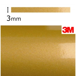 Vinilo Adhesivo Dorado Metalizado 3M-S80 (3mm.)