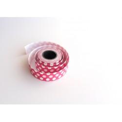 Cinta de Tela Adhesiva de Flores - Color rosa