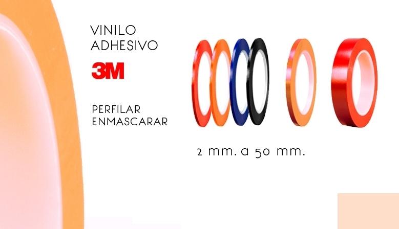 cintas vinilo adhesivo para perfilar 3 mm, 4 mm, 2 mm
